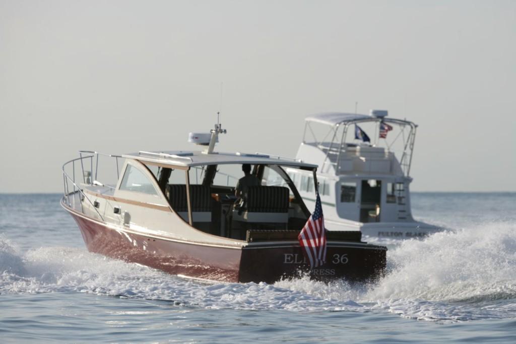 The Ellis Flybridge 36 and Express Cruiser
