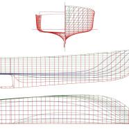 Ellis Downeast Semi-displacement Hull Design