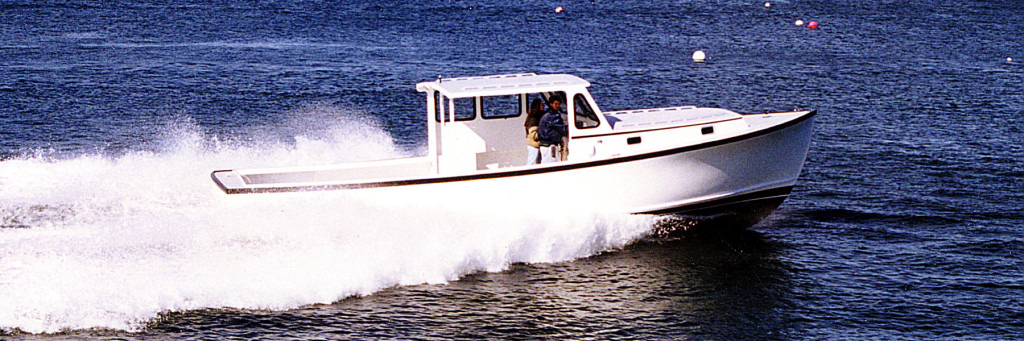 Ellis 36 Lobster Boat with Semi Displacement Hull