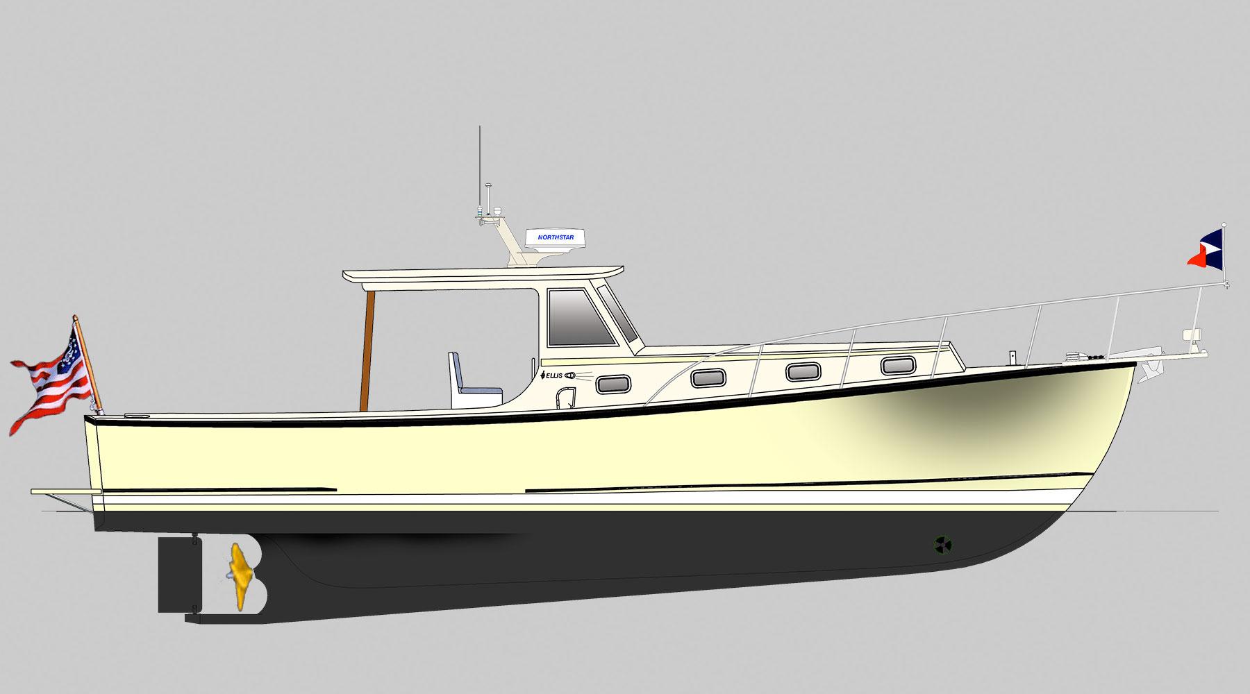 36 Lobster Cruiser - Ellis Boat Company - Ellis Boat Company