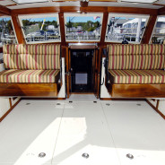 Ellis Cantilevered Seats